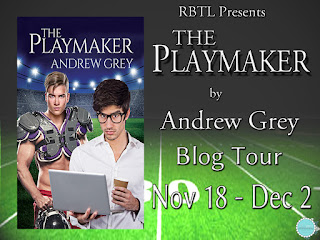 Blog Tour: Guestpost , Excerpt & Giveaway Andrew Grey - The Playmaker