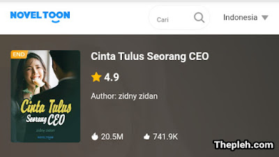 Novel Cinta Tulus Seorang CEO