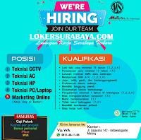 We Are Hiring at Marvell Sekurindo Malang Terbaru Juli 2019