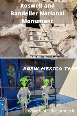 Roswell and Bandelier National Monument