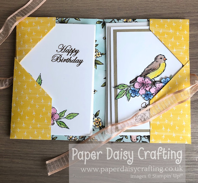 Free as a bird stamp set Stampin Up