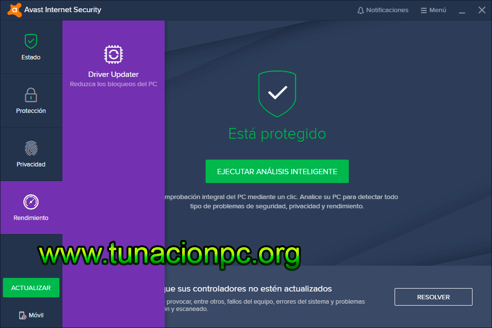 Avast Internet Security Multilenguaje