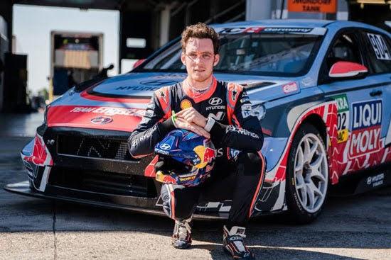 Rallyestar Thierry Neuville startet in der ADAC TCR Germany