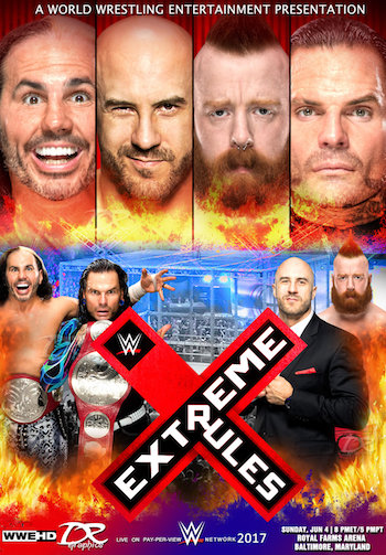 WWE Extreme Rules 2017 PPV Free Download