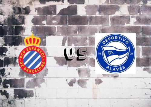 Espanyol vs Deportivo Alavés  Resumen