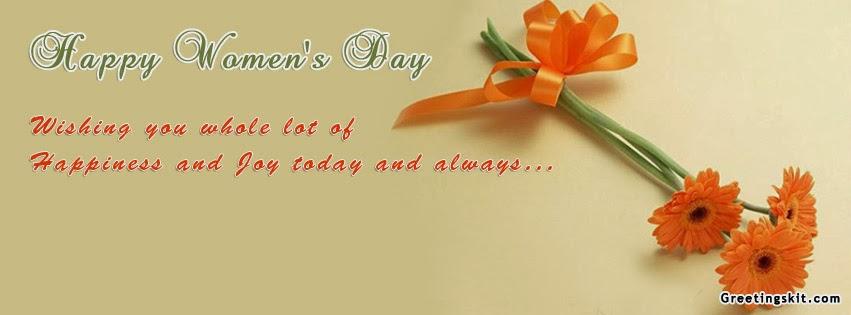 Ảnh bìa 8/3 đẹp cho Facebook - Mừng ngày Quốc tế phụ nữ