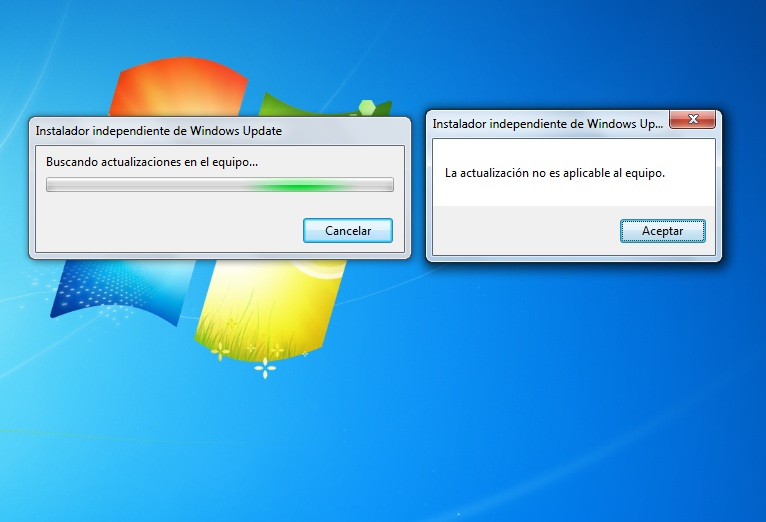 Solución Error Forticlient - Please install patch KB3033929 before