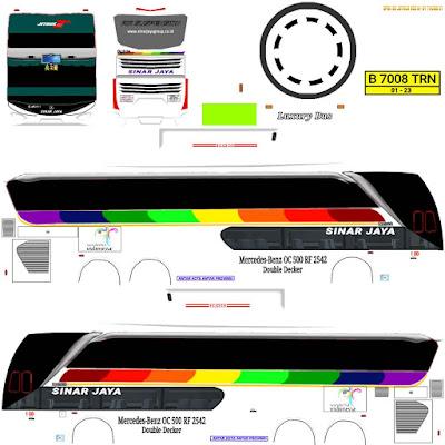 tema bus simulato indonesia sinar jaya