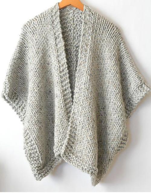 Telluride Easy Knit Kimono - Free Pattern