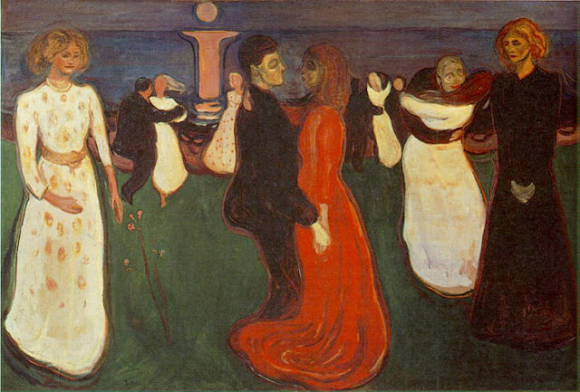 Эдвард Мунк - Танец жизни. 1900