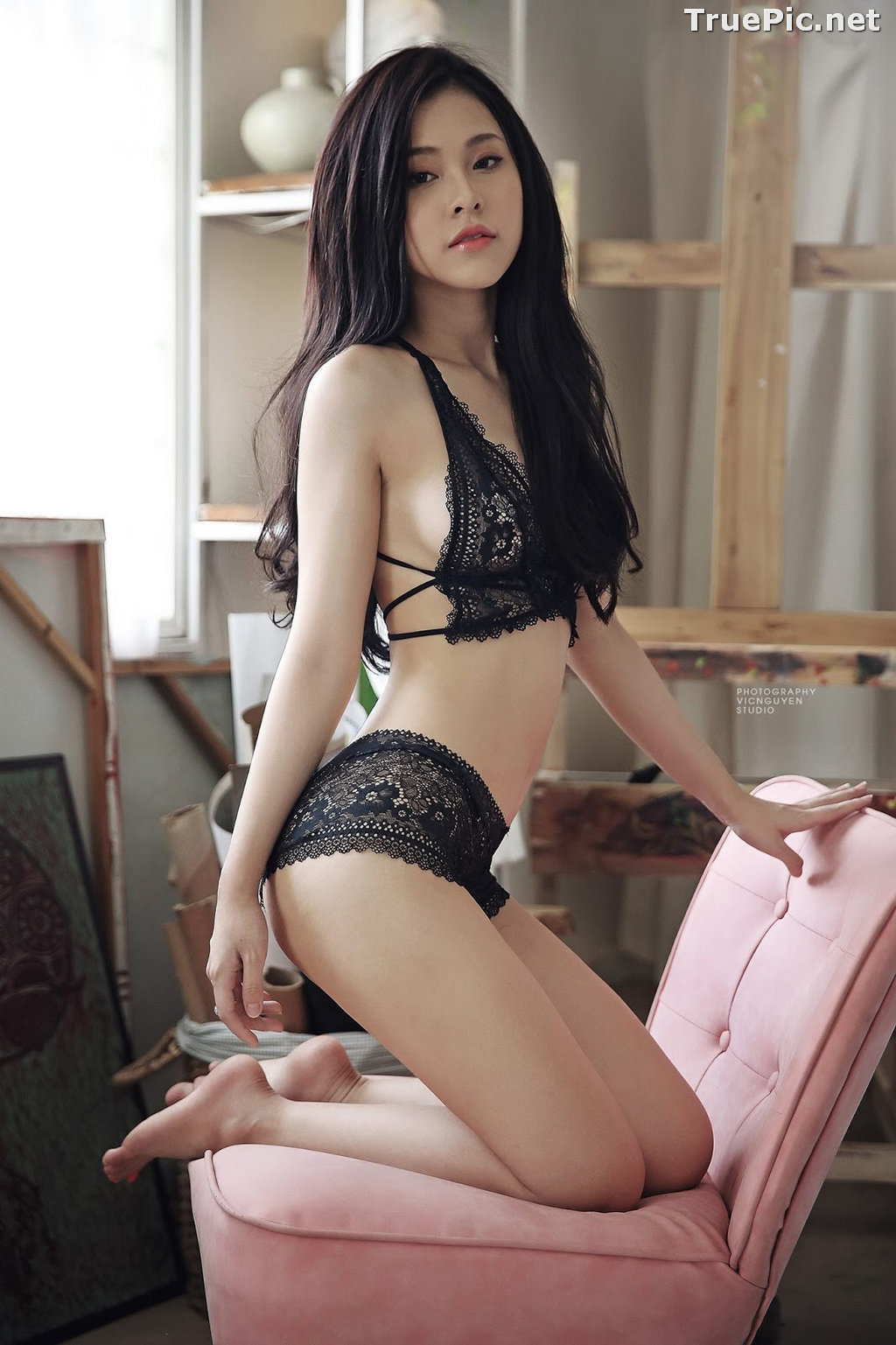 Image Vietnamese Sexy Model - Le Thien An - My Lingerie Collection - TruePic.net - Picture-9