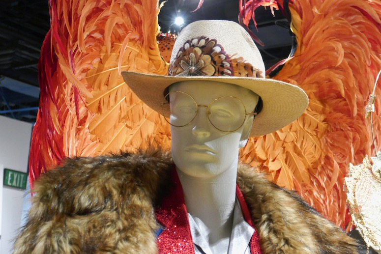 Goodbye Yellow Brick Road Rocketman costume hat