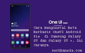 Cara Menginstal Beta Berbasis OneUI Android Pie  di Samsung Galaxy S9 dan Galaxy S9 +, Ini Caranya 1
