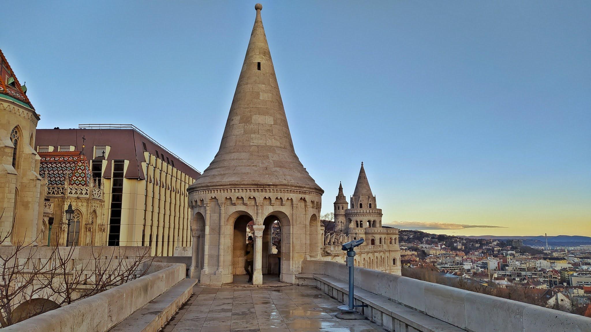 Budapeszt na weekend atrakcje Baszta Rybacka
