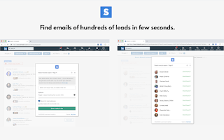 Best email finder and scraper tool Skrapp.io