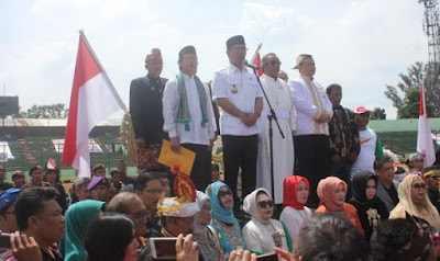 Ridwan Kamil dan Tokoh Lintas Agama Hadiri Deklarasi BUNKRI