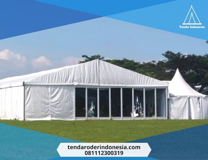 Harga Sewa Jual Tenda Roder VIP Bekasi 081112300319