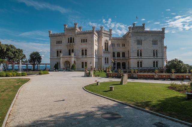 giardino e castello di miramare