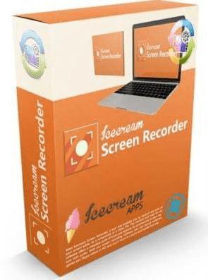 Icecream Screen Recorder Pro 6.21 poster box cover