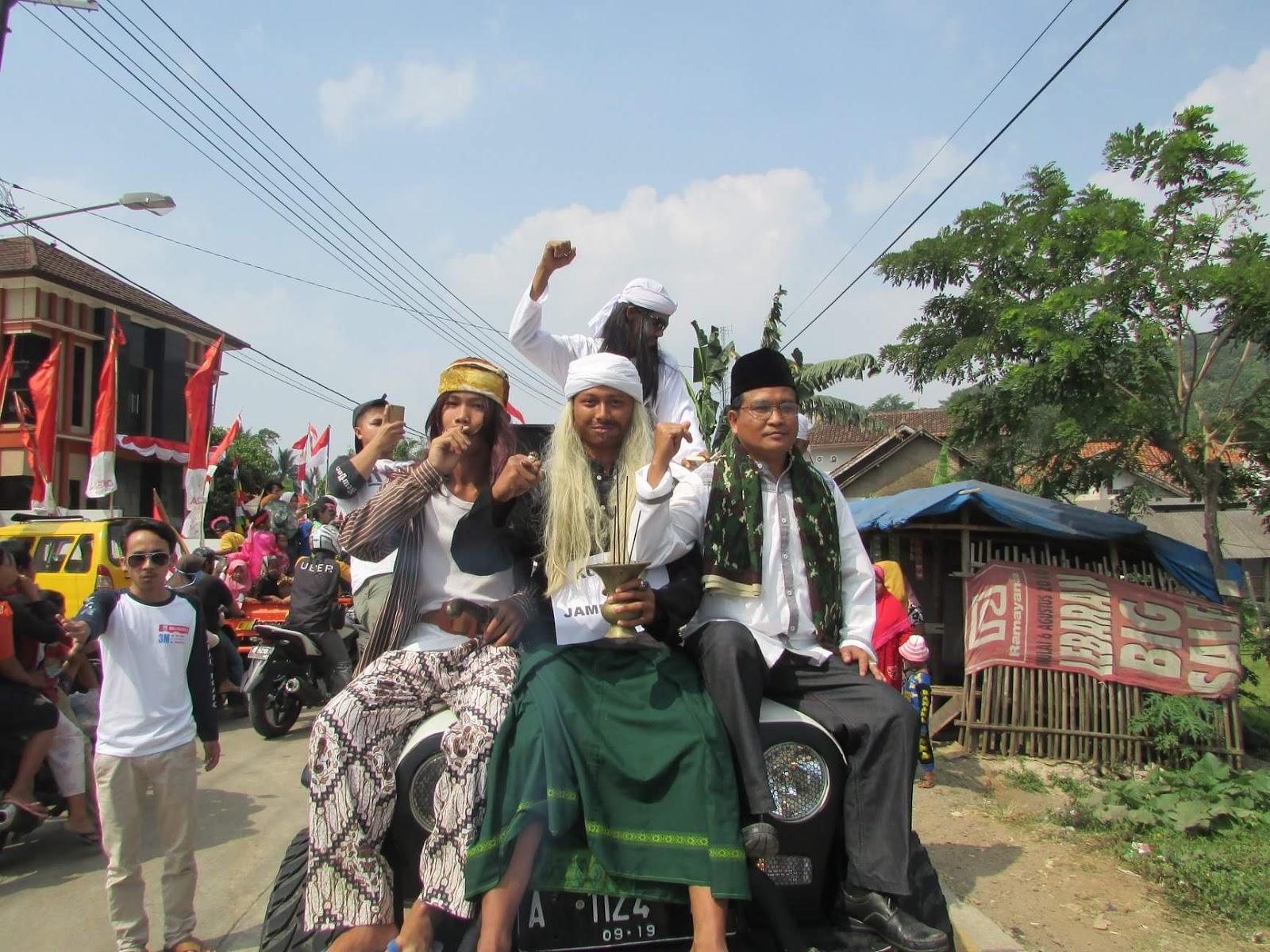 Acara Meriah ultah Indonesia