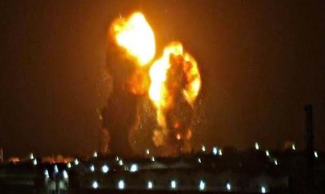 عاجل: بالفيديو لحظة سقوط صواريخ إيران على قاعدة عين الأسد الأمريكية في العراق
