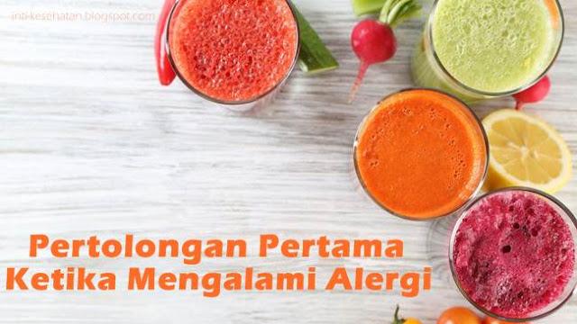 Mungkin saja anda yakni salah satu orang yang memiliki alergi terhadap makanan atau bend 5 Langkah yang Tepat Ketika Kamu Mengalami Alergi