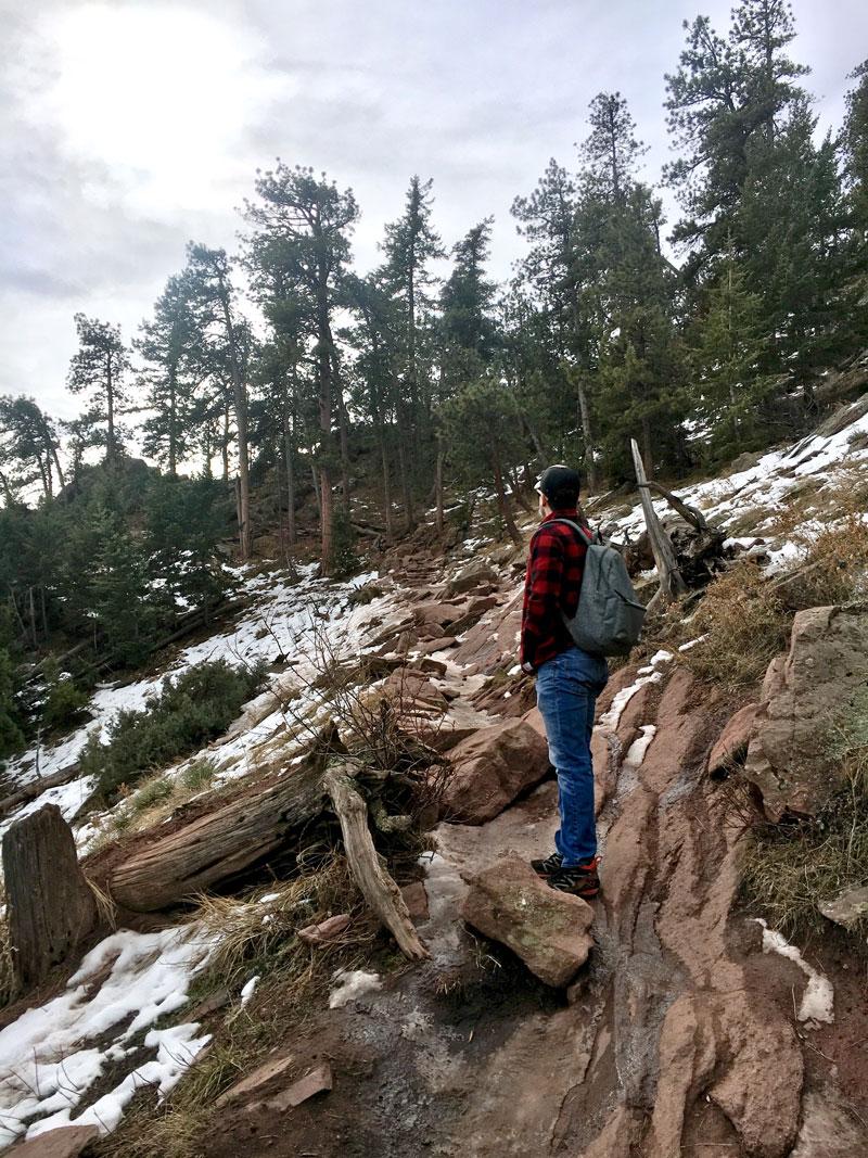 Climbing Mount Sanitas