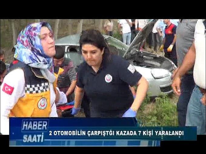 TOKAT TURHAL KARAYOLU'NDA MEYDANA GELEN KAZADA