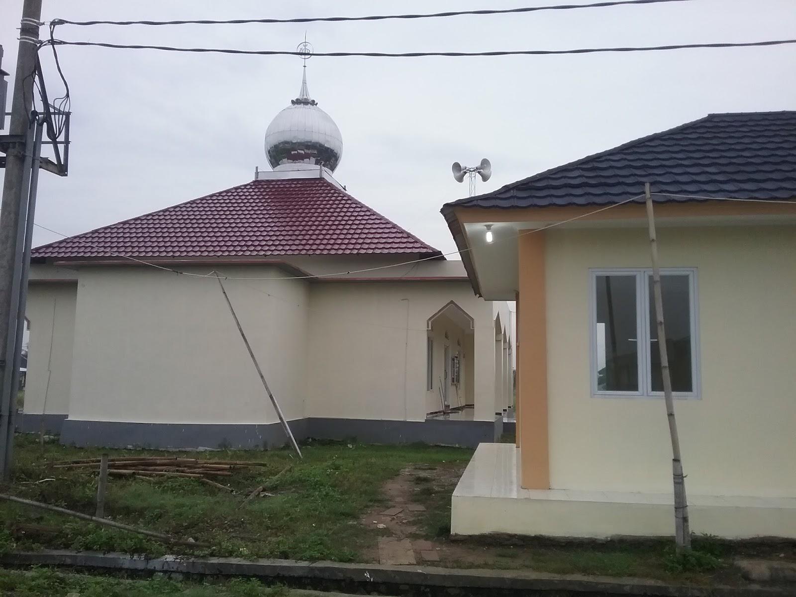 fasilitas umum & masjid di palm residence