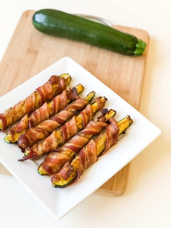 Keto Zucchini Bacon Bites Recipe