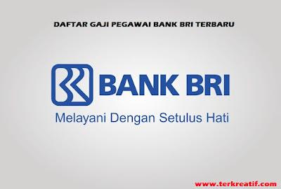 Daftar Gaji Karyawan Bank Bri Tahun 2021