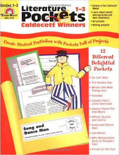 Literature Pockets: Caldecott Winners, Grades 1-3