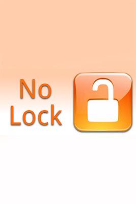 No lock