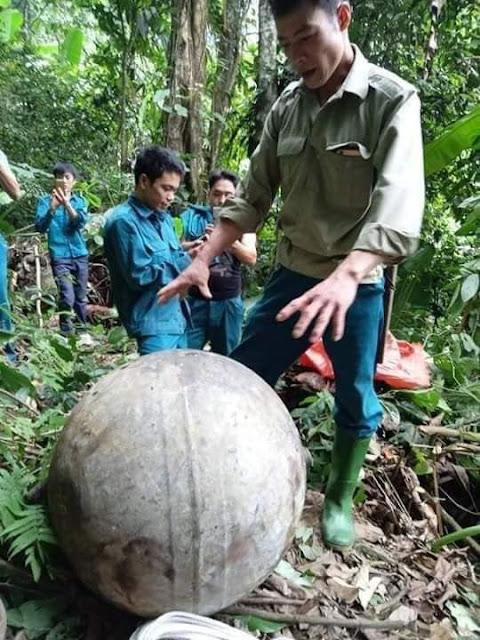 Tuyên Quang: Người dân phát hiện vật thể lạ rơi từ trên không xuống