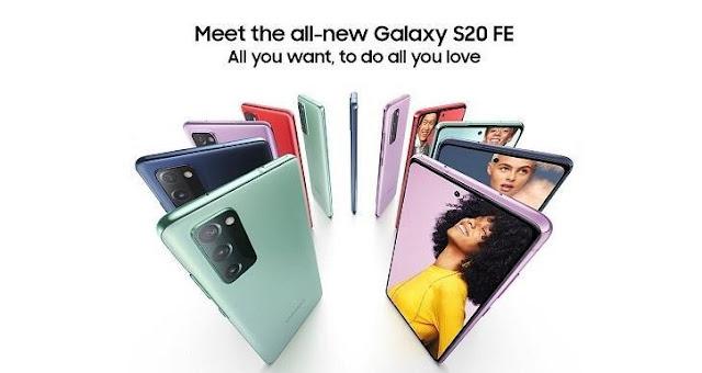Spesifikasi dan Harga HP Samsung Galaxy S20 FE Terbaru