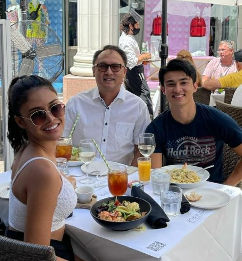 Rabiya Mateo spotted with Andre Brouillette