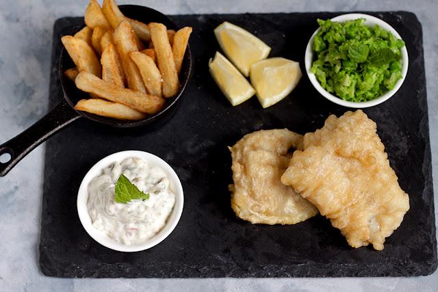 jak zrobićfish & chips