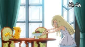 Pokemon Sol y Luna Capitulo 30 Temporada 20 Lillie, Cuida Bien De Pikachu