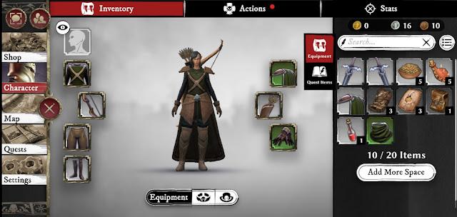 Warhammer odyssey equipments guide