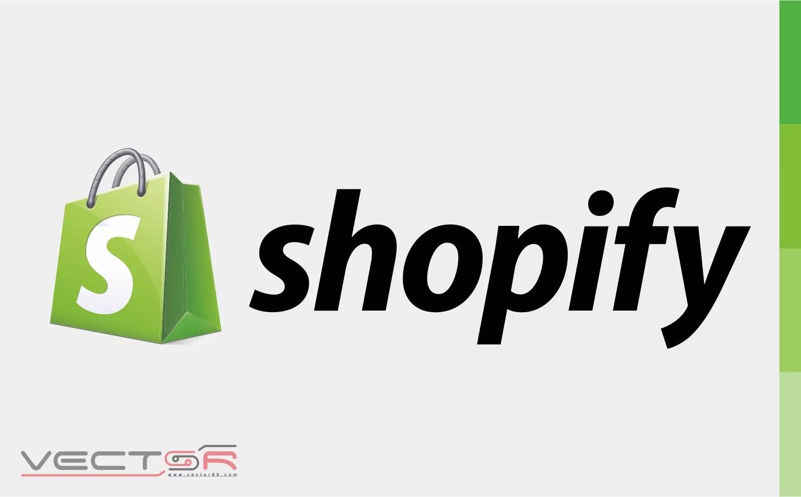 Shopify (2006) 3D Logo - Download Vector File CDR (CorelDraw)