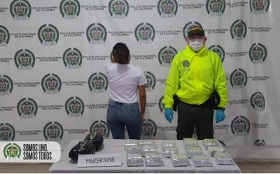 hoyennoticia.com, Casa por cárcel a mujer capturada con más de cuatro kilos de marihuana en La Nevada