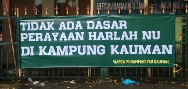 Menyoal Penolakan Harlah NU oleh Muhammadiyah Kauman