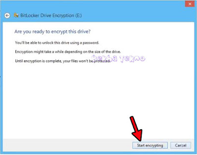 Encrypt-used-disk-space-only
