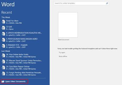 Cara Mengubah PDF ke Word di PC - open pdf