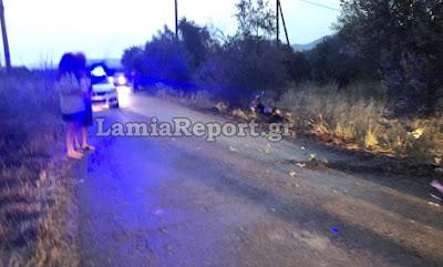 Στυλίδα: Σοβαρό τροχαίο με μηχανάκι για δυο παιδιά από Λαμία