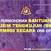 PERMOHONAN BANTUAN MUSIM TENGKUJUH (BMT) RM600 SECARA ONE-OFF