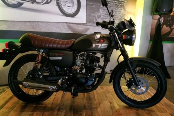 Kawasaki W175 CAFE Tambah Mentereng, Warna dan Grafis Terbaru