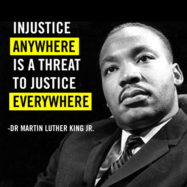 injustice anywhere is a threat to justice everywhere essay for m l king jr day compton civic plaza under western skies essay book sample essay book