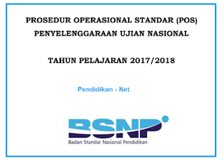 POS UN 2020 dan Jadwal UN SMP/MTs, SMA/MA dan SMK tahun 2018