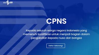 Jadwal pendaftaran CPNS 2021 terbaru